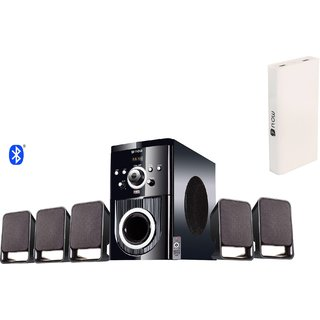 Flow Buzz Bluetooth Wired Home Audio Speaker with 13000mAh power bank