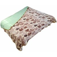 JK Handloom Antipiling Fleece Double Ply Blanket Double Bed TBR