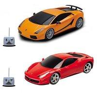 Pack Of Lamborghini And Ferrari Racing Remote Cars