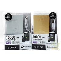 SONY Cycle Energy Portable Charger Power Bank 10000 Mah