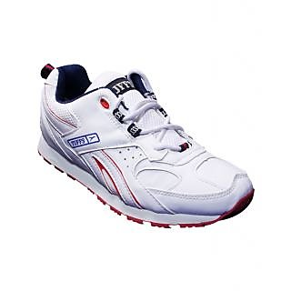Tuffs White Sports Shoes PR-44 - Wht
