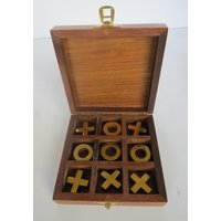 Nautical Mart Wooden Mini Criss Cross Game