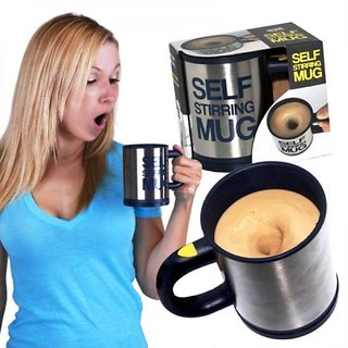 Self Stirring Automatic Coffee Mug