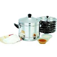 Mahavir Stainless Steel Idly Cooker-24 Pc Idly