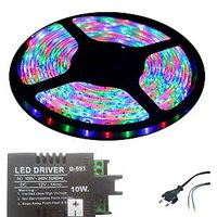 Water Proof SMD Strip In Multi Colour (Red,Blue,Green) With LED Driver