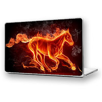 Burning Horse Laptop Skin High Quality - DW-13 - High Quality 3M Vinyl