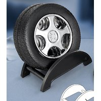 Tyre Shape Coasters (Set Of 4 Pieces With Stand)