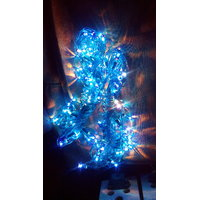 Decorative Rice Bulb String Light For Diwali 10 Feet Size Two Qnty Blue Colore