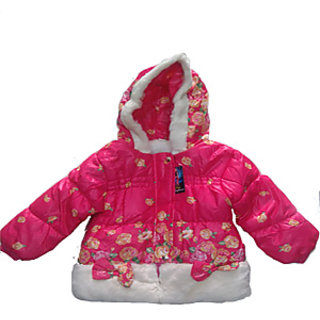 Winter Coat Jacket with Hood for Baby (Puffer Candy Colour)