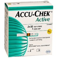 Accu-Chek Active Test Strips Box (100) Strips