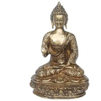 Handicrafted Brass Statue Of Lord Buddha By Aakrati