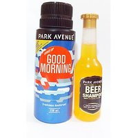 Park Avenue Good Morning Deo Spray 150ml & Park Avenue BEER Shampoo Free 75ml