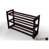 Mango Wood Shoe Rack (PFA-90027)