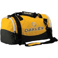 OAKLEY PRO-FIT Yellow Sports Duffle Bag, Useful For Gym Or Weekend Traveling