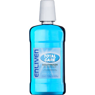 ENLIVEN TOTAL CARE MOUTHWASH 500ML (MADE IN ENGLAND)