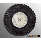 MDF Hand Carved Wall Clock (PFA-90048)