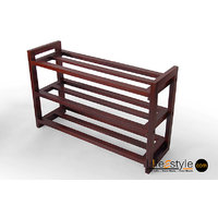 Mango Wood Shoe Rack (PFA-90026)