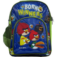 Priority Angry Birds Full Front Design School Bag