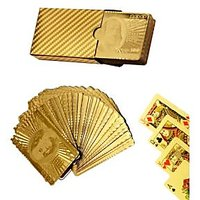 GOLD Foiled Playing Cards Super Luxury Gift