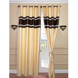 Crush Door Curtain With Free Tasal(4x7 Feet)