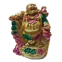 Laughing Buddha Statues Depict A Stout, Smiling Or Laughing Bald Man In Robes With A Largely Exposed Pot Belly Stomach, Which Symbolizes Happiness, Good Luck, And Plenitude. Some Laughing Buddha Images Have Small Children At Their Feet. Another Item That