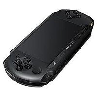 Sony Psp  E1004 (Black Color) - 1 Game Free (Street Cricket 2)