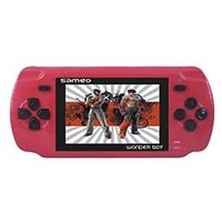 Sameo Wonder Boy ( 8 Bit Handheld Game) - Ruby Red