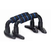 PUSH UP BARS STAND ANTI SKID WITH FOAM HANDLE 4 CHEST ARMS (PAIR)