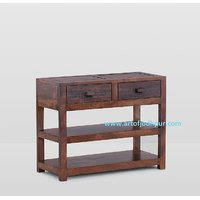 Side Table/telephone Table In Sheesham Wood- Home Furniture Onaline