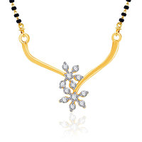 VK Jewels Two Flowers Wedding Mangalsutra