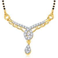VK Jewels Marvelous Gold and Rhodium Wedding Mangalsutra