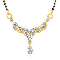 VK Jewels Angelic Gold and Rhodium Wedding Mangalsutra