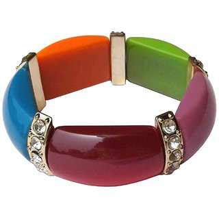 Fancy Multicolour Bracelet - 663