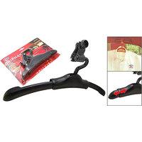 Griphan Car Blazer / Coat Hanger With Adjustable Hooks - Black