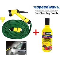 Speedwav Pressure Washing Spray Jet Gun 10 Meter + Abro Shampoo 100ml