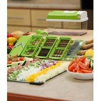 BIG Multi Chopper Vegetable Cutter Fruit Slicer Peeler - Nicer Dicer Plus