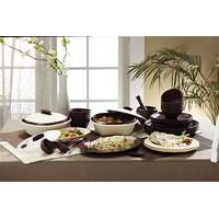Signoraware Dinner Set With Double Wall Casseroles 240