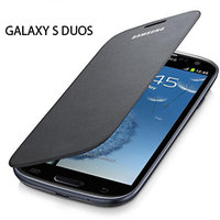 Samsung Galaxy S Duos 7562 Flip Cover Black