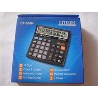 Citizen CT555N Calculator Check & Correct Function 12 Digits Calculator