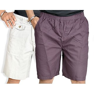 True Fashion Multi-Coloured Cargo Shorts (Combo of 3)-SACCARBBB93