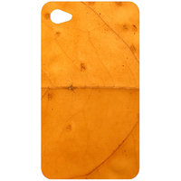 Autumn Yellow Leaf Texture Back Cover Case For Apple IPod Touch 4
