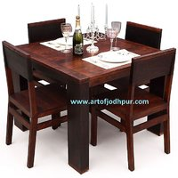 Dining Set In Sheesham Wood
