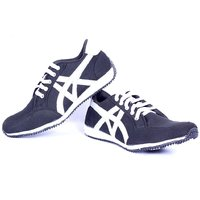 Contablue Men's Silver Sports Shoes