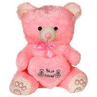 Cute Teddy  Bear With Heart 1 Feet..(12 Inches)