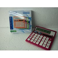 Calculator Coloured Body Best Quality Duel Power