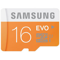 Samsung EVO 16GB MicroSDHC 16GB Class 10 UHS I Memory Card