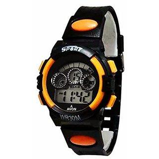 A Avon Sports Analog Black Dial Watch