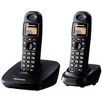 Panasonic 3612 Dual Unit Cordless Phone With Intercom  Conf Facility