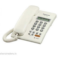 Panasonic Corded Phone KX-TSC62SX White Landline Caller ID Full Speaker Phone