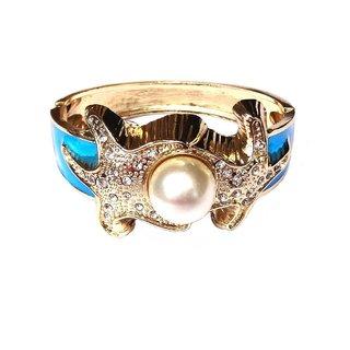 Fancy Blue Bangle / Bracelet - 761
